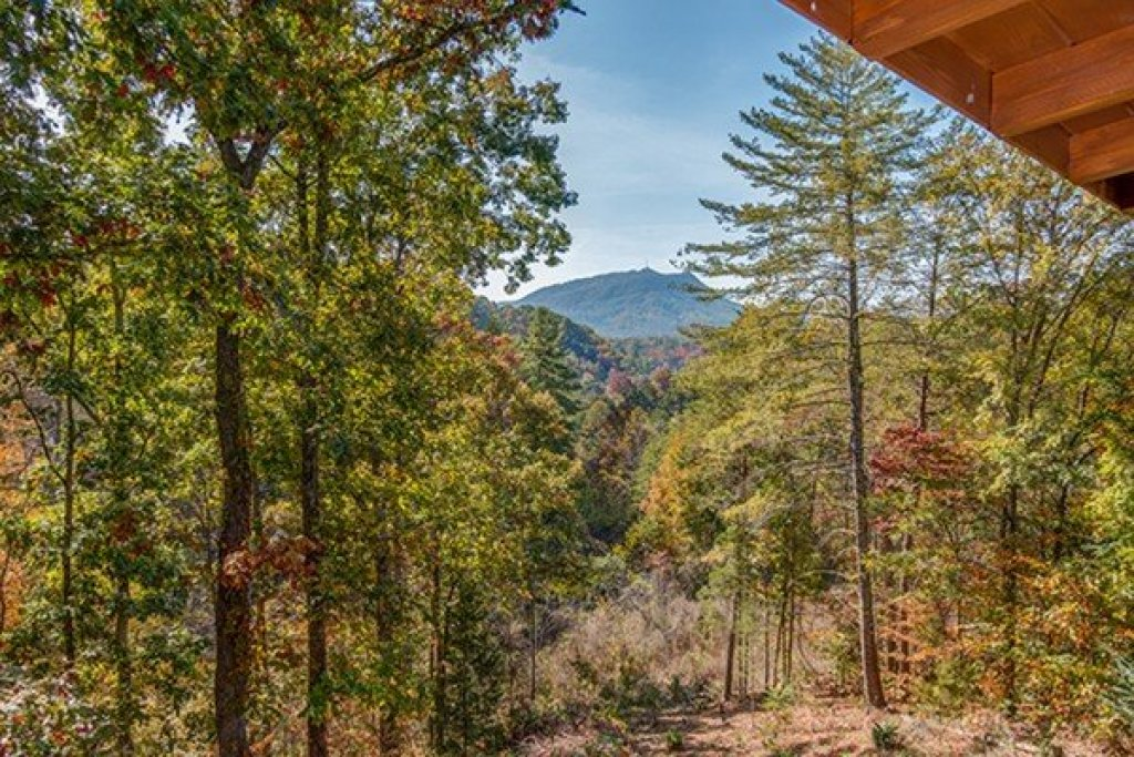 Photo of a Sevierville Cabin named Bear Hug Hideaway - This is the second photo in the set.