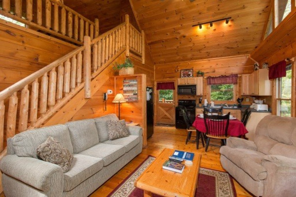 Photo of a Gatlinburg Cabin named Cabin Sweet Cabin - This is the fourth photo in the set.
