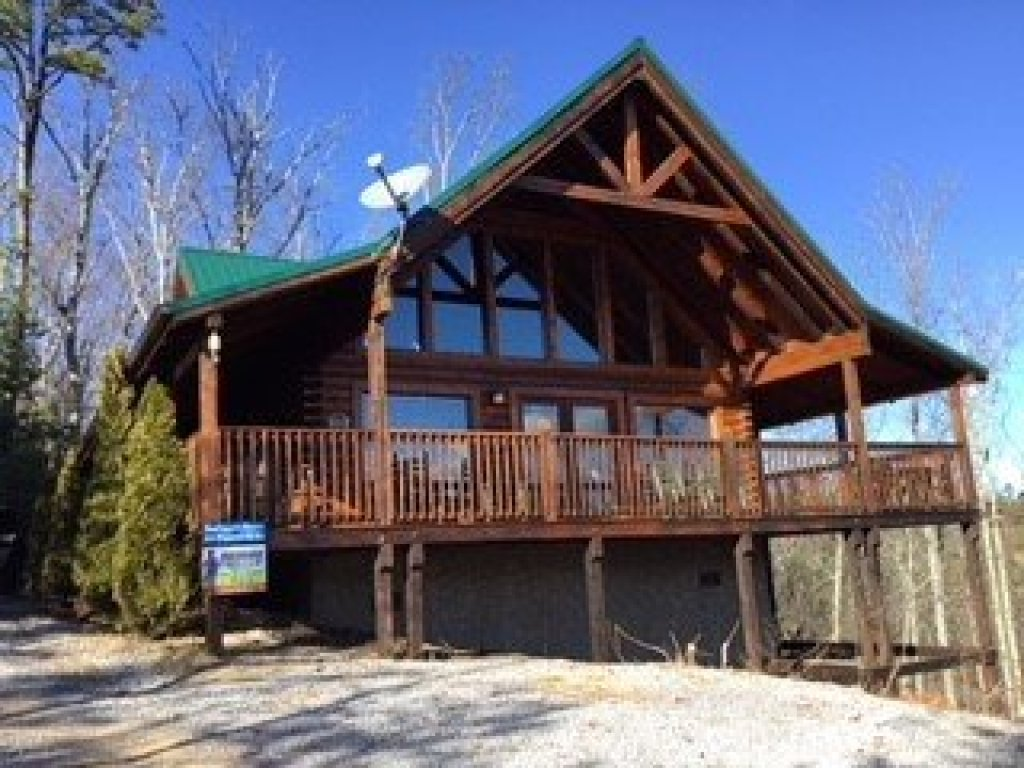 Photo of a Sevierville Cabin named Bootlegger's Bounty - This is the twenty-third photo in the set.