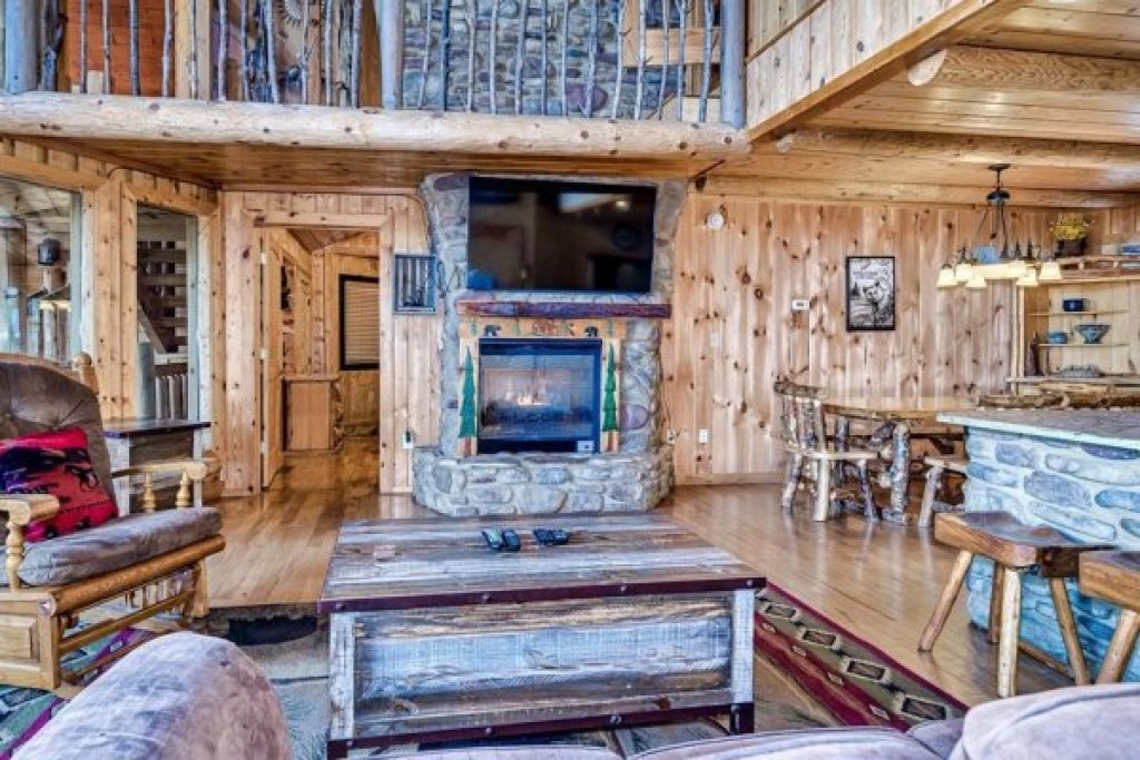 Photo of a Sevierville Cabin named A Stunning View - This is the seventh photo in the set.