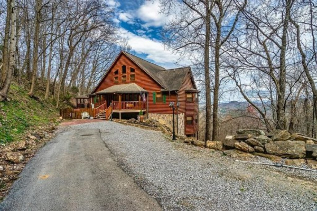 Photo of a Sevierville Cabin named A Stunning View - This is the second photo in the set.