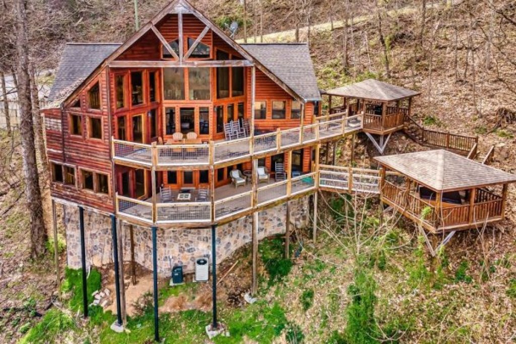 Photo of a Sevierville Cabin named A Stunning View - This is the fifty-second photo in the set.