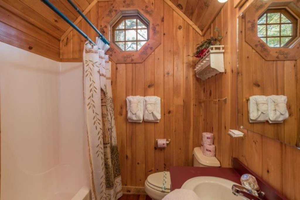 Photo of a Sevierville Cabin named R & R Hideaway - This is the eighteenth photo in the set.