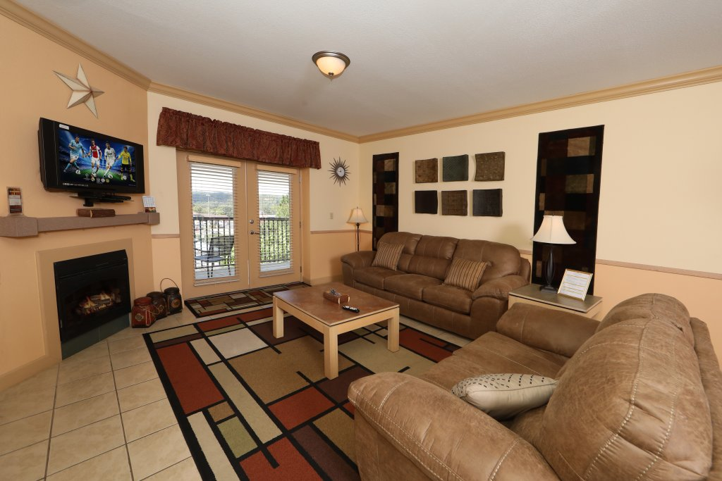 Photo of a Pigeon Forge Condo named Mountain View Condo 1205 - This is the third photo in the set.
