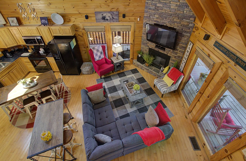 Photo of a Sevierville Cabin named Incredible Vibes & Views  #204 - This is the seventeenth photo in the set.