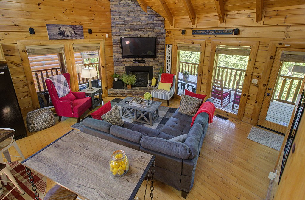 Photo of a Sevierville Cabin named Incredible Vibes & Views  #204 - This is the sixty-first photo in the set.