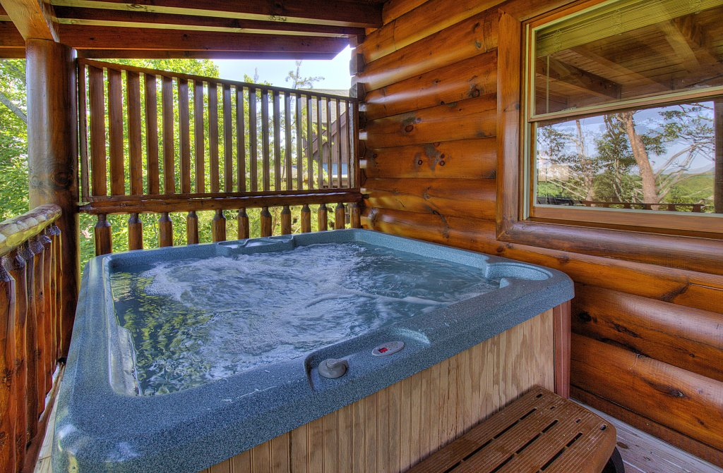 Photo of a Sevierville Cabin named Incredible Vibes & Views  #204 - This is the forty-first photo in the set.