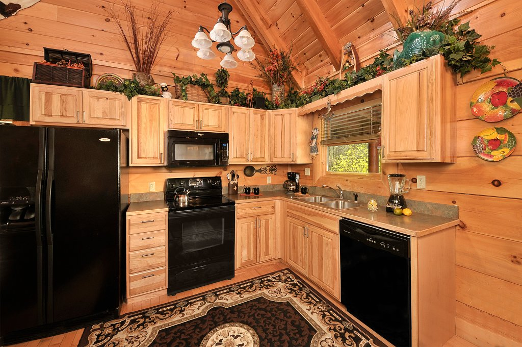 Photo of a Sevierville Cabin named Hakuna Matata - This is the fourth photo in the set.