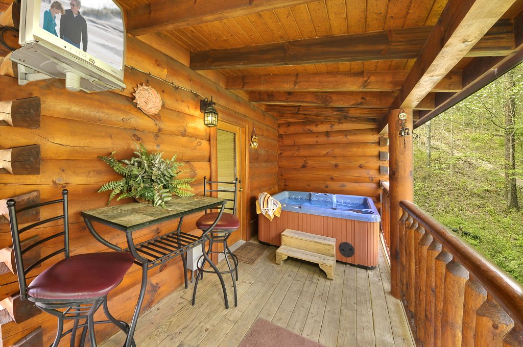 Photo of a Sevierville Cabin named Hakuna Matata - This is the eighteenth photo in the set.
