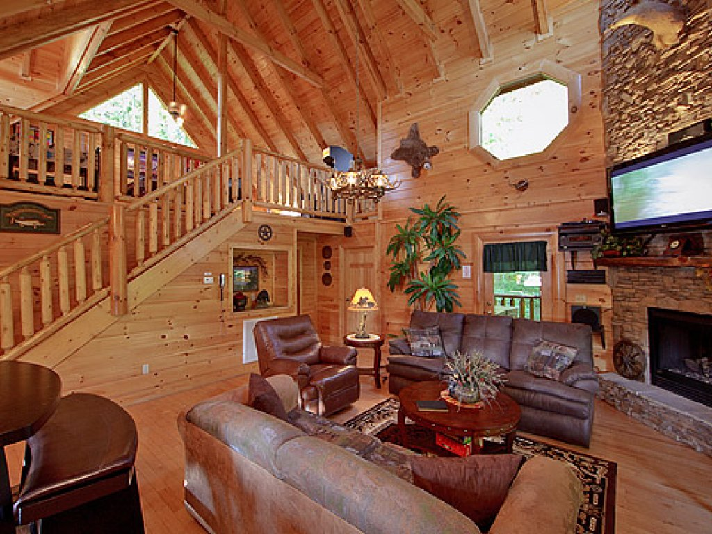 Photo of a Sevierville Cabin named Hakuna Matata - This is the twenty-fourth photo in the set.