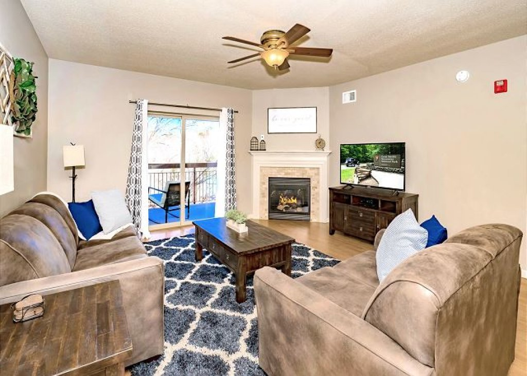 Photo of a Pigeon Forge Condo named Rippling Waters Cedar Lodge 503 - This is the first photo in the set.