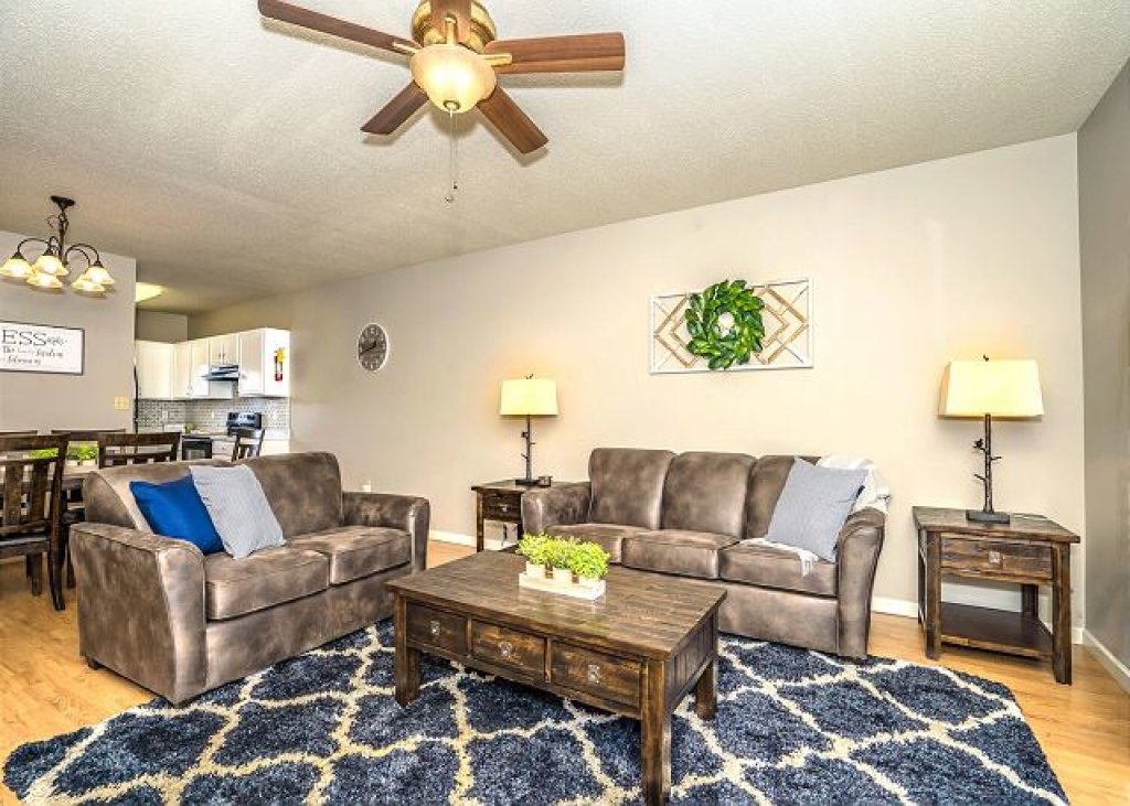 Photo of a Pigeon Forge Condo named Rippling Waters Cedar Lodge 503 - This is the third photo in the set.