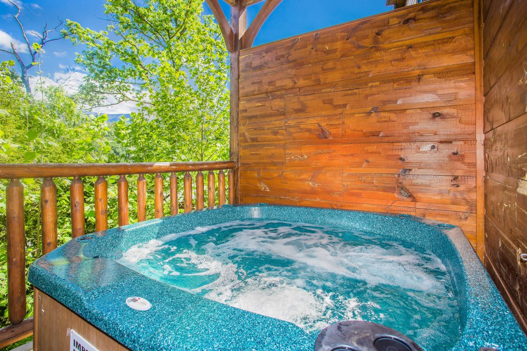 Photo of a Gatlinburg Cabin named Heavenly Hilltop Getaway - This is the third photo in the set.