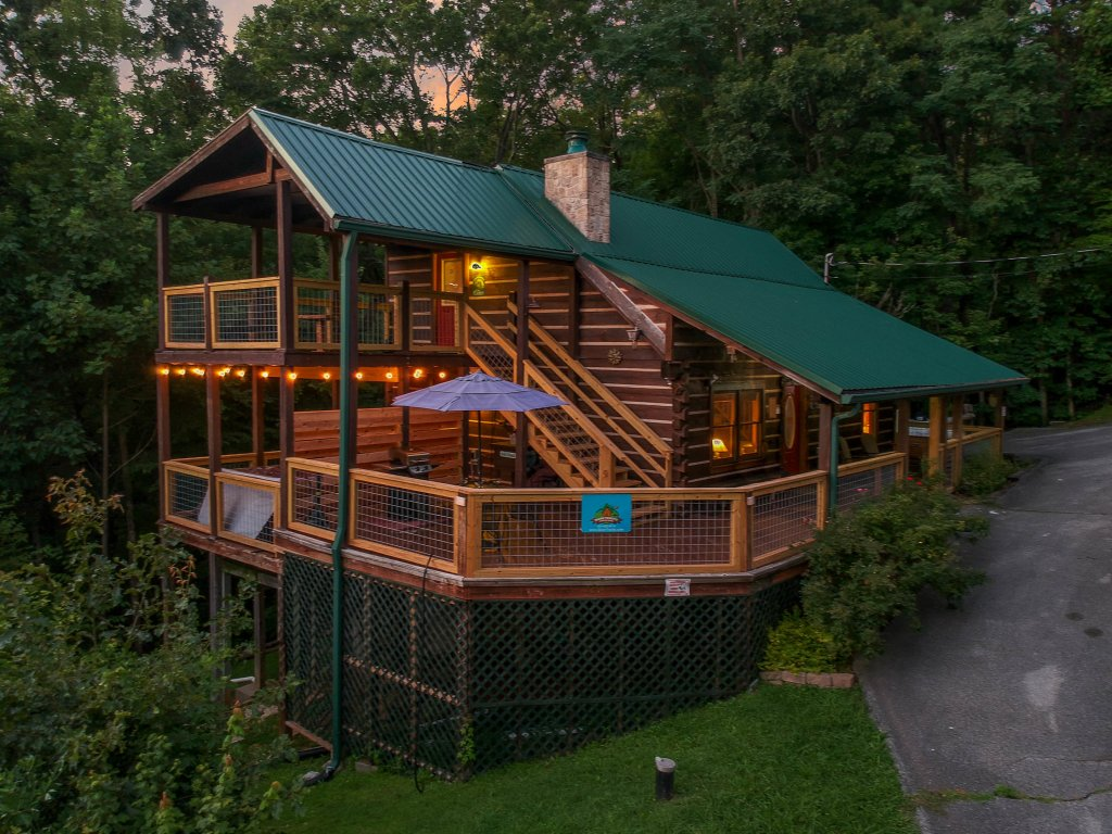 Photo of a Gatlinburg Cabin named Big Sky View - This is the second photo in the set.