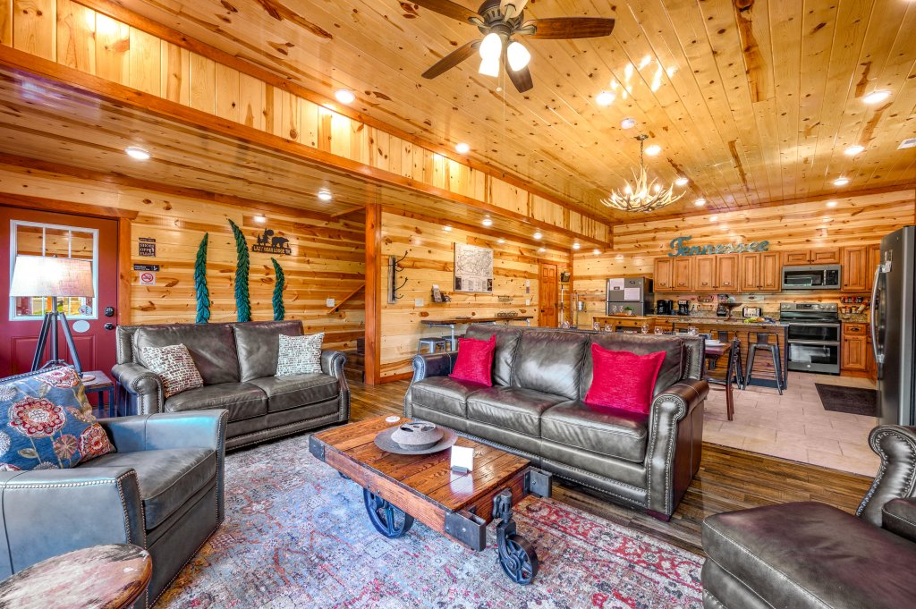 Photo of a Sevierville Cabin named Lazy Bear Lodge - This is the first photo in the set.