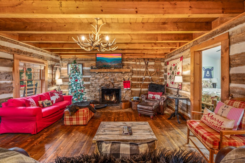 Photo of a Gatlinburg Cabin named Blessed Beyond Measure - This is the fourth photo in the set.
