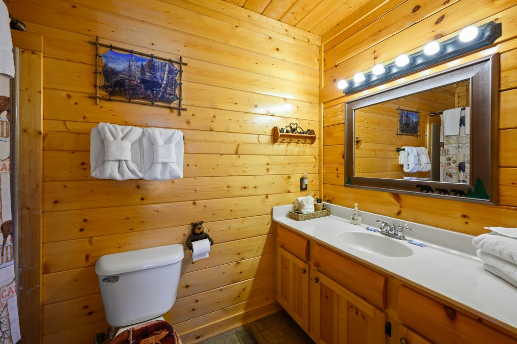 Photo of a Sevierville Cabin named Bearslide Inn - This is the twenty-fifth photo in the set.