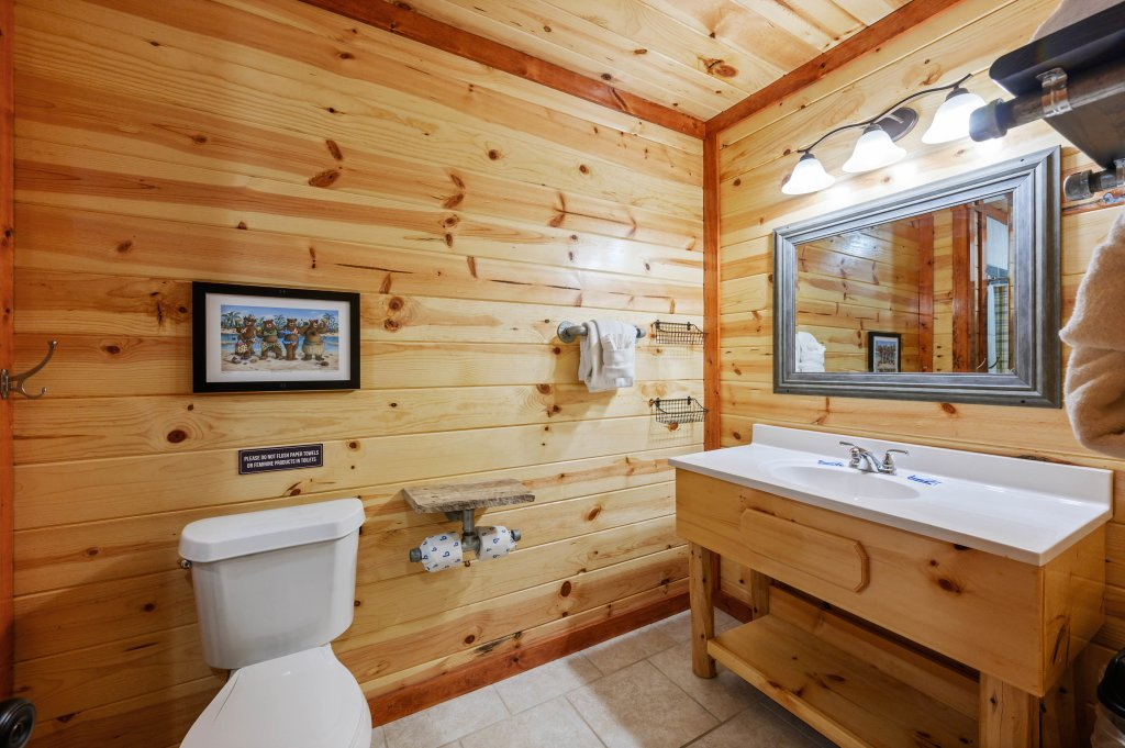 Photo of a Sevierville Cabin named Lazy Bear Lodge - This is the one hundredth photo in the set.