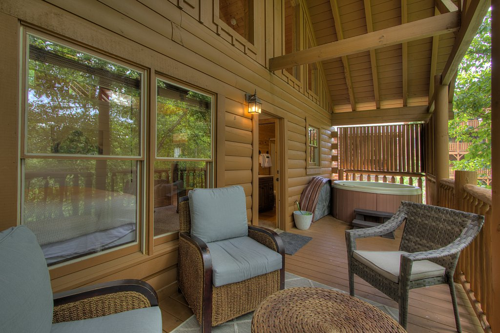 Photo of a Sevierville Cabin named Smoky Pool Paradise #1854 - This is the ninth photo in the set.
