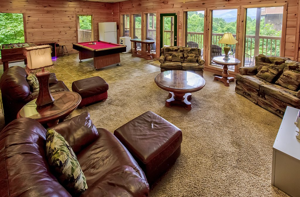 Photo of a Gatlinburg Cabin named Hillbilly Hilton #525 - This is the tenth photo in the set.
