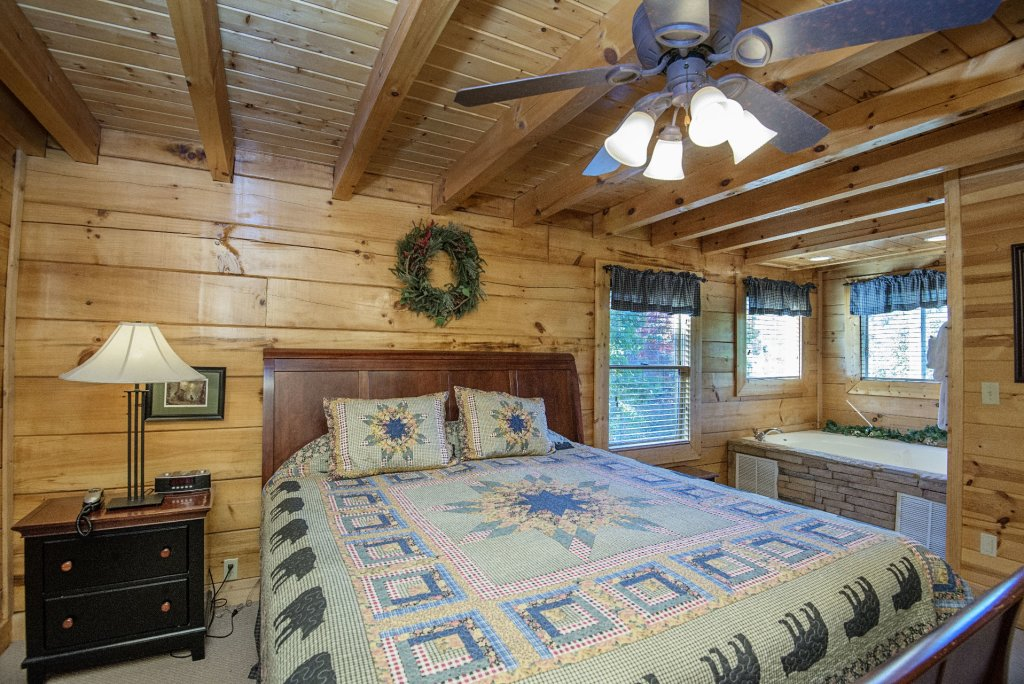 Photo of a Pigeon Forge Cabin named  Black Hawk Hideaway - This is the tenth photo in the set.
