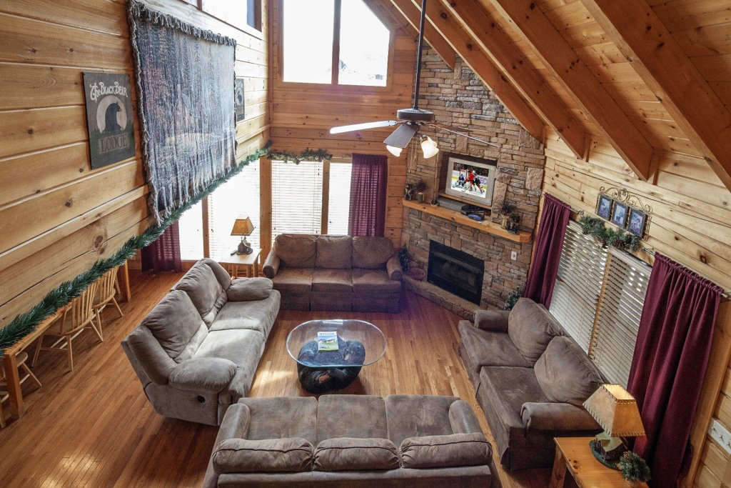 Photo of a Sevierville Cabin named  Black Beary Ridge - This is the fourth photo in the set.