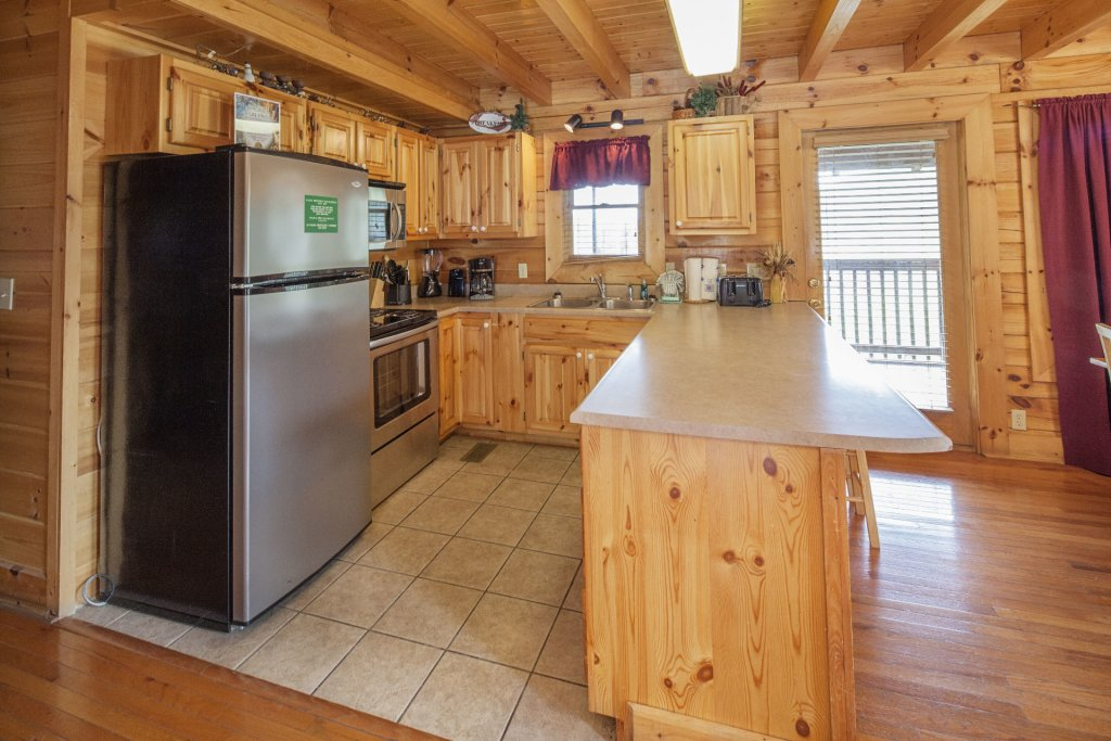 Photo of a Sevierville Cabin named  Black Beary Ridge - This is the sixth photo in the set.