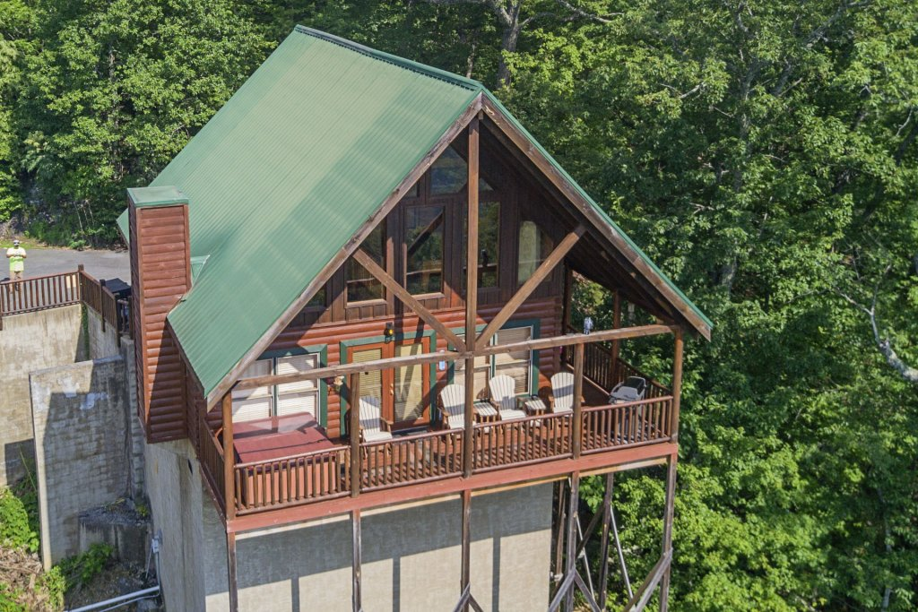 Photo of a Pigeon Forge Cabin named Majestic Mountain View - This is the fiftieth photo in the set.