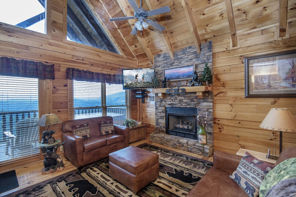 Photo of a Pigeon Forge Cabin named Majestic Mountain View - This is the fourth photo in the set.