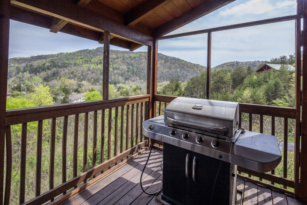 Photo of a Sevierville Cabin named  Black Beary Ridge - This is the forty-first photo in the set.