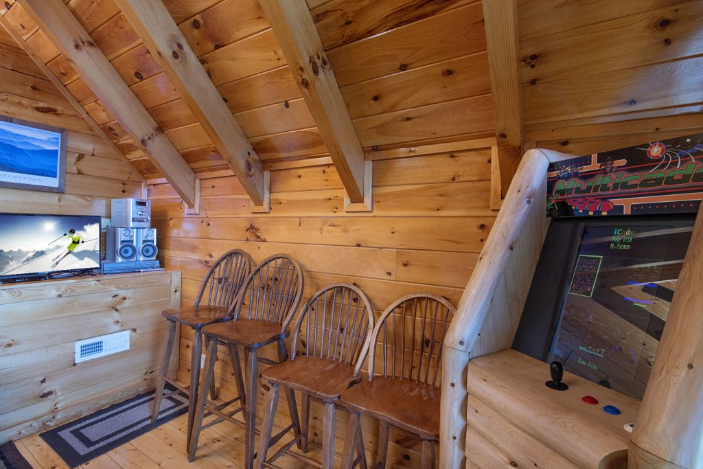 Photo of a Pigeon Forge Cabin named Majestic Mountain View - This is the forty-seventh photo in the set.