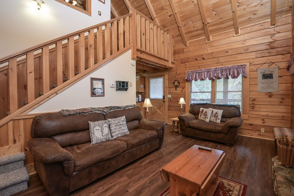 Photo of a Pigeon Forge Cabin named  Happy Haven - This is the fifth photo in the set.