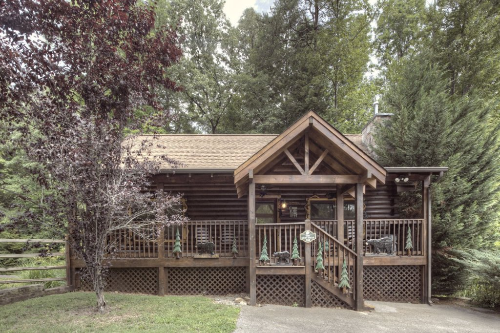 Photo of a Pigeon Forge Cabin named  The Cozy Bear - This is the first photo in the set.