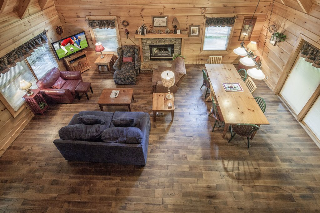 Photo of a Pigeon Forge Cabin named  George's - This is the sixth photo in the set.
