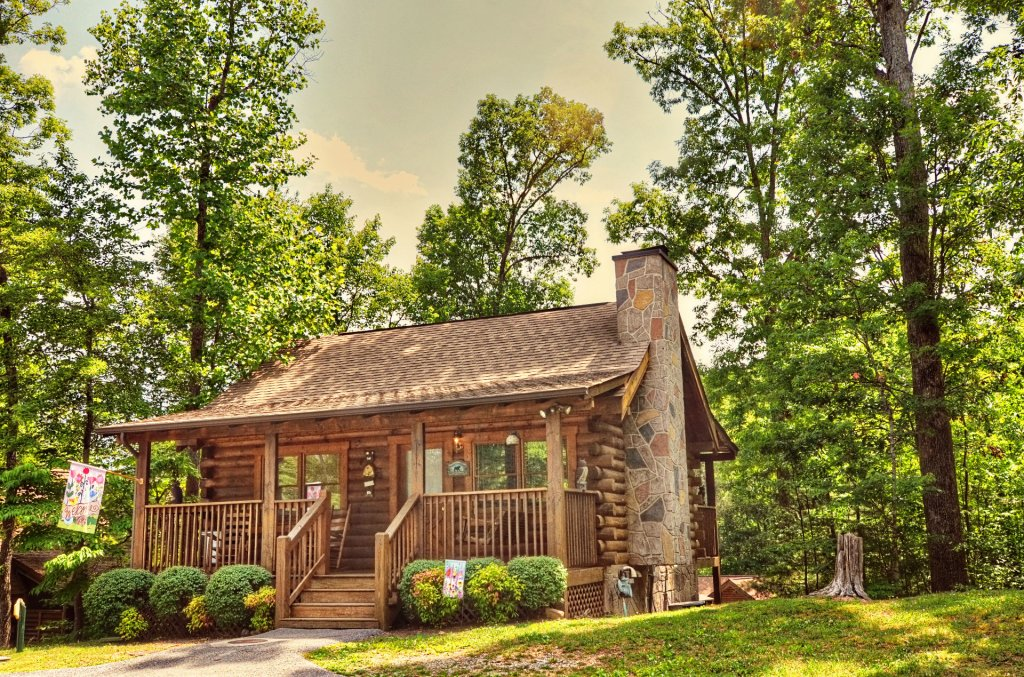 Photo of a Pigeon Forge Cabin named  Eagles Point - This is the first photo in the set.