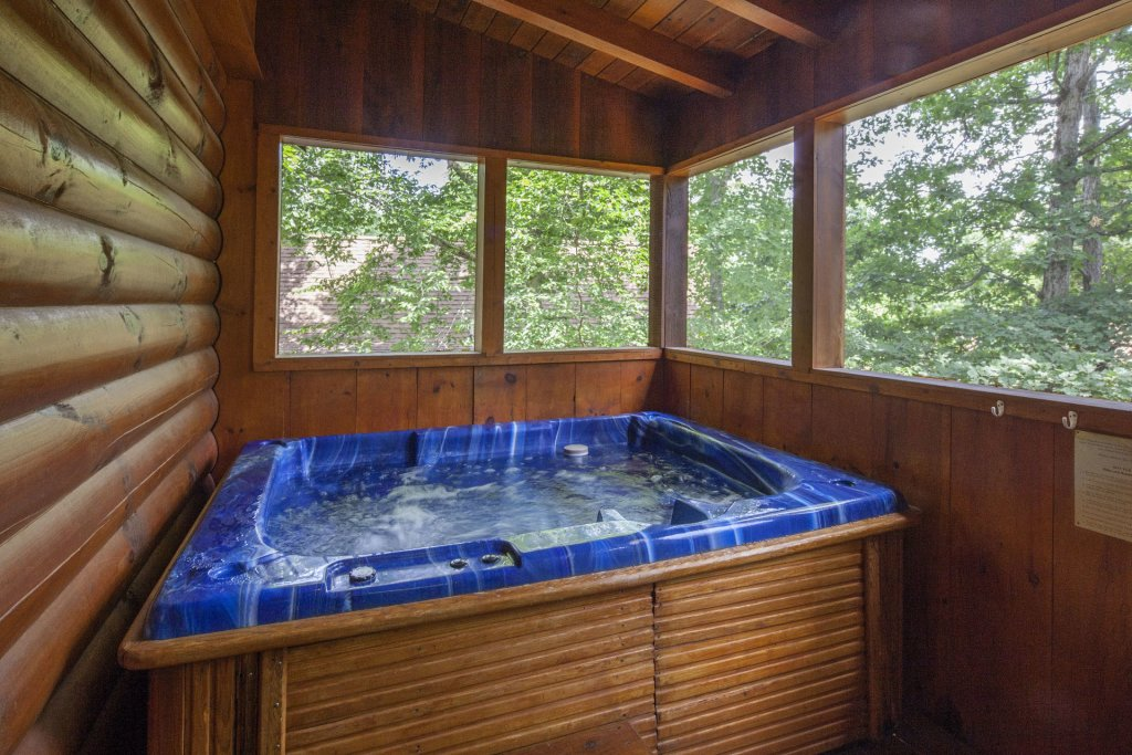 Photo of a Pigeon Forge Cabin named  Eagles Point - This is the twenty-fourth photo in the set.