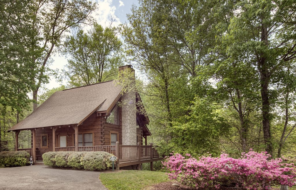 Photo of a Pigeon Forge Cabin named  Savage Loft (was Sweet Serenity) - This is the first photo in the set.
