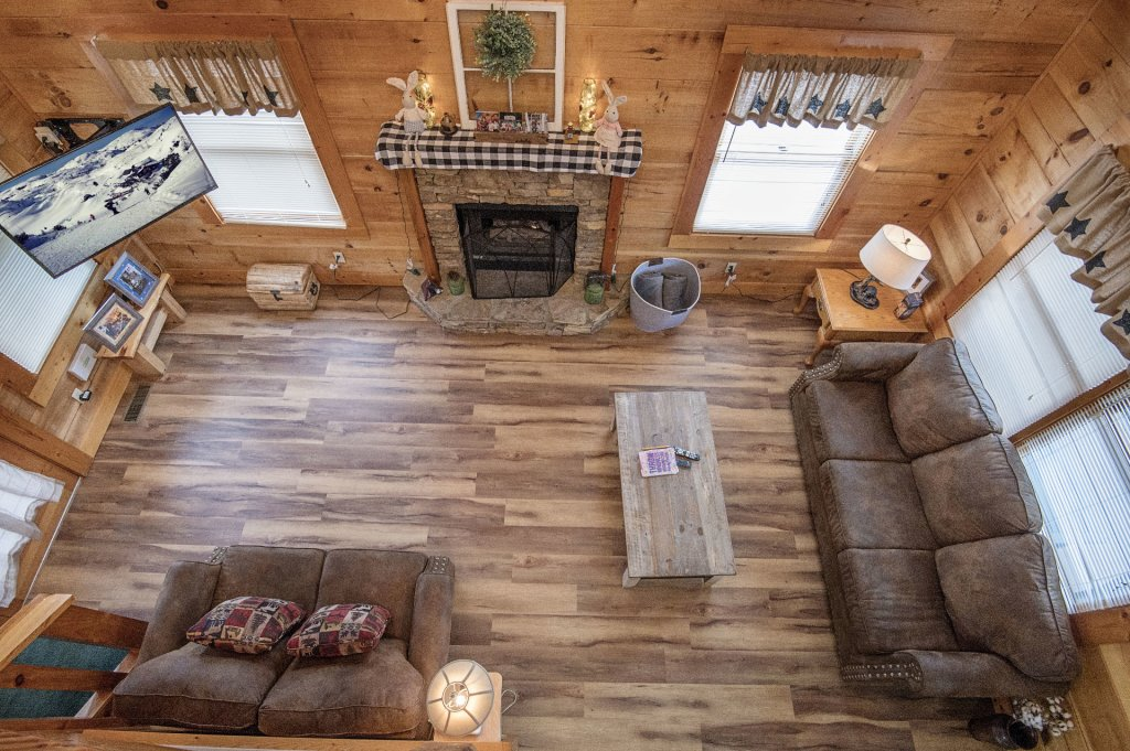 Photo of a Pigeon Forge Cabin named  Savage Loft (was Sweet Serenity) - This is the ninth photo in the set.