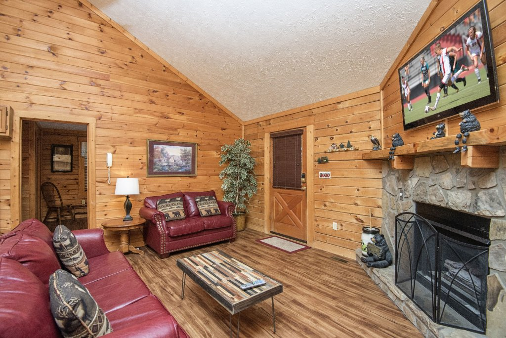 Photo of a Pigeon Forge Cabin named  Barbara's View - This is the fifth photo in the set.