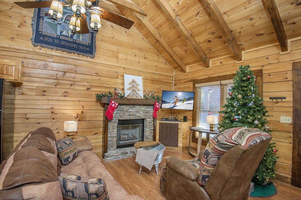 Photo of a Pigeon Forge Cabin named  Cuddlin' Up - This is the fourth photo in the set.