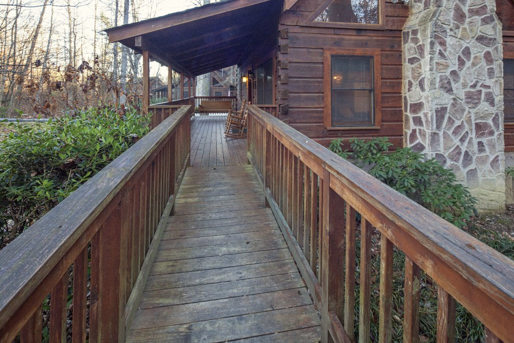 Photo of a Pigeon Forge Cabin named  Natures Grace Retreat - This is the seventh photo in the set.