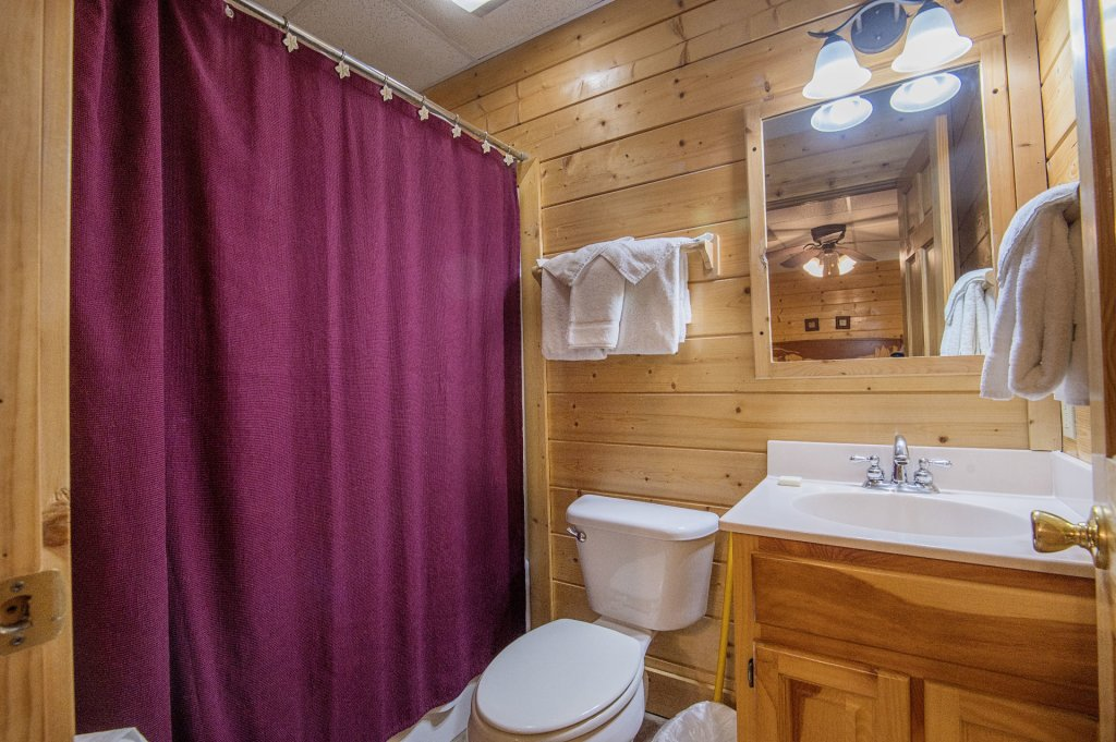 Photo of a Sevierville Cabin named  Mountain Majesty - This is the thirtieth photo in the set.
