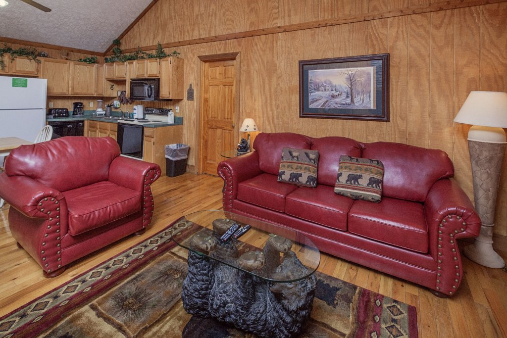Photo of a Pigeon Forge Cabin named  Grandpa's Getaway - This is the second photo in the set.
