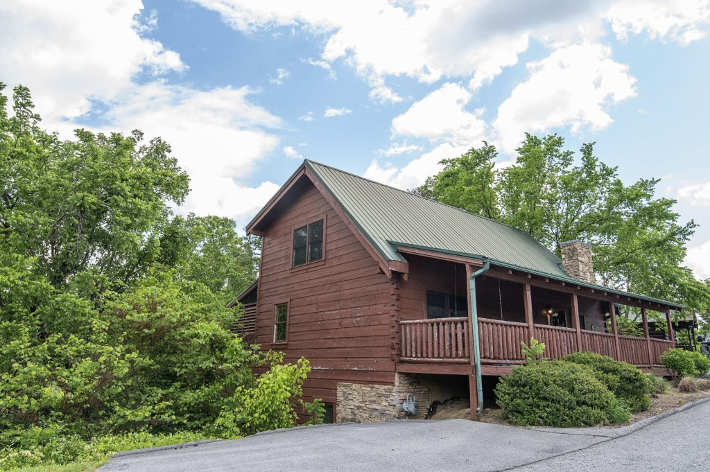 Photo of a Sevierville Cabin named  Mountain Majesty - This is the third photo in the set.