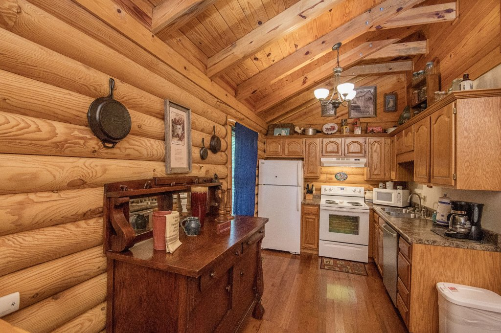 Photo of a Pigeon Forge Cabin named  Rising Eagle - This is the fourth photo in the set.