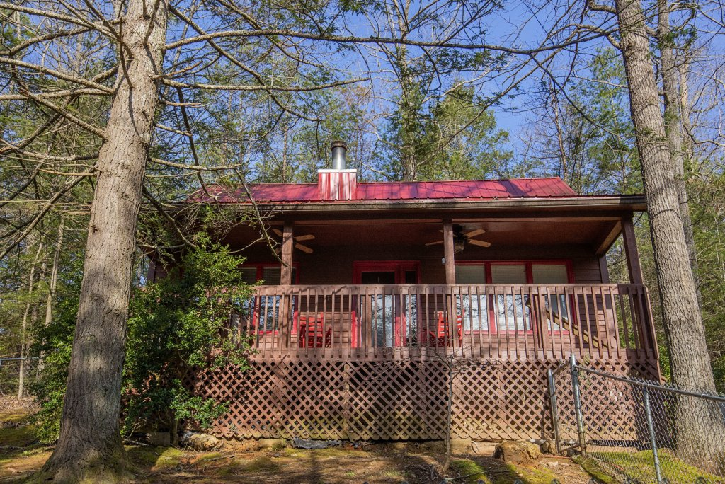 Photo of a Gatlinburg Cabin named Simple Pleasures - This is the fifth photo in the set.