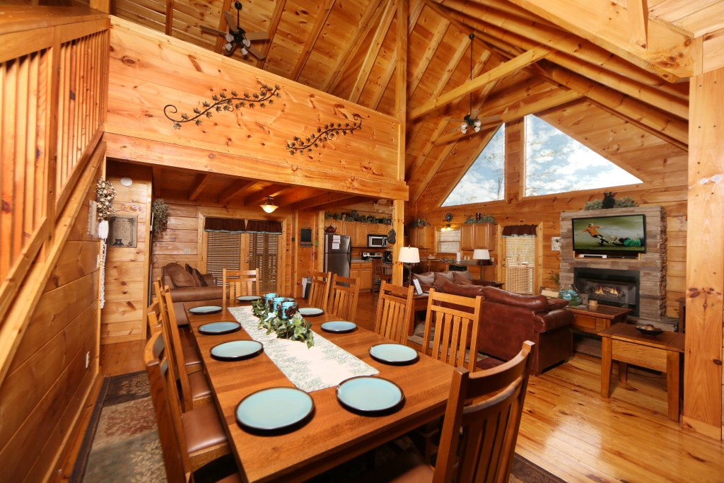 Photo of a Sevierville Cabin named Smoky Mountain Getaway - This is the sixteenth photo in the set.