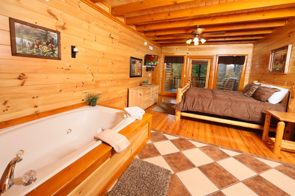 Photo of a Sevierville Cabin named Mountain Movie Inn - This is the seventh photo in the set.