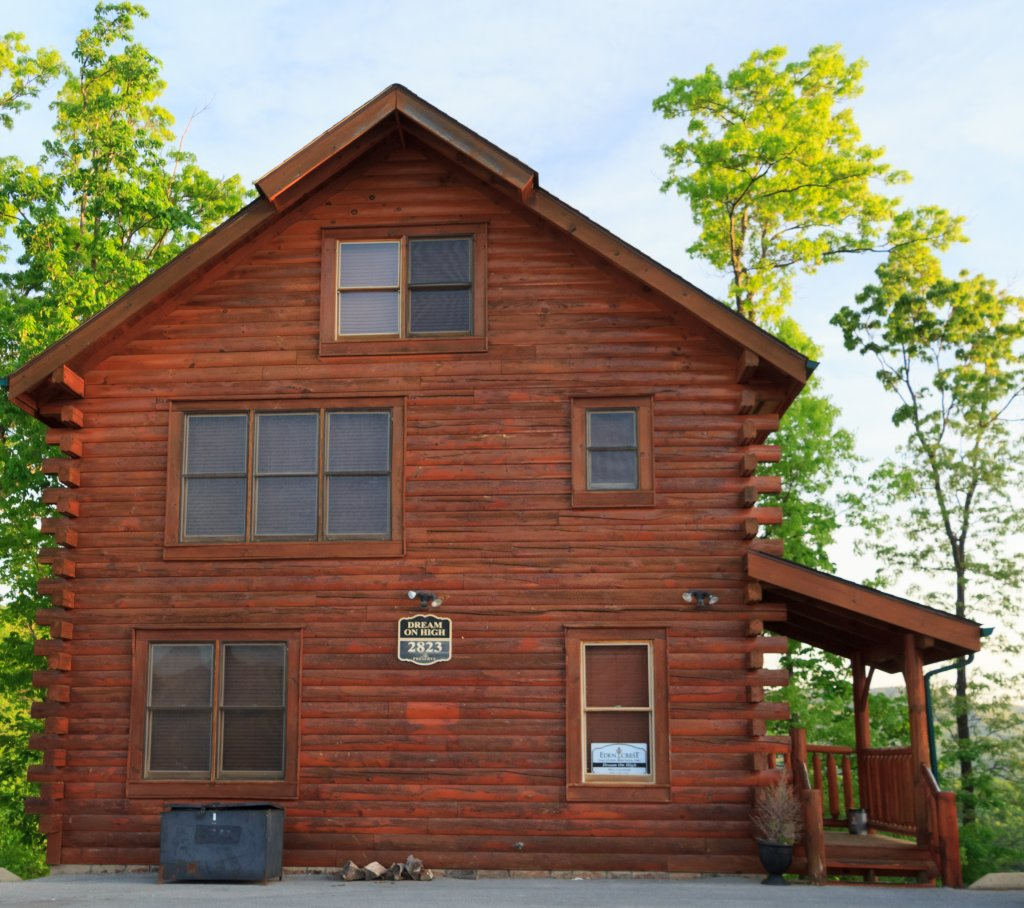 Photo of a Sevierville Cabin named Dream On High - This is the second photo in the set.