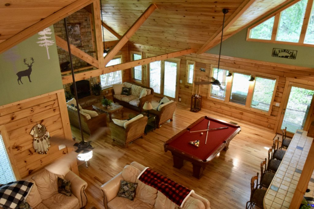 Photo of a Sevierville Cabin named Now And Forever - This is the seventh photo in the set.